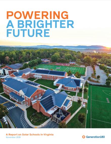 Solar in Schools - Generation 180 Report
