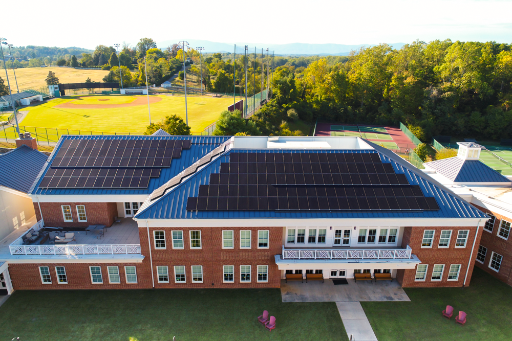 St. Anne's-Belfield Solar System Brings STEM Education to Students