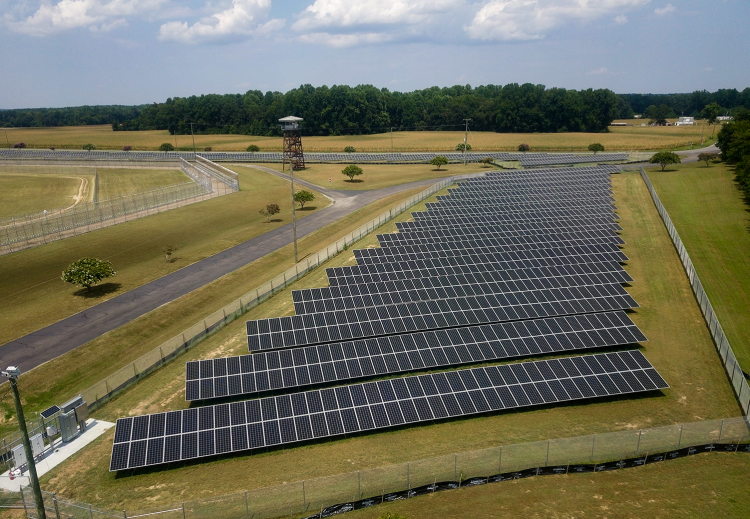 Solar project for the Commonwealth of Virginia by Sun Tribe