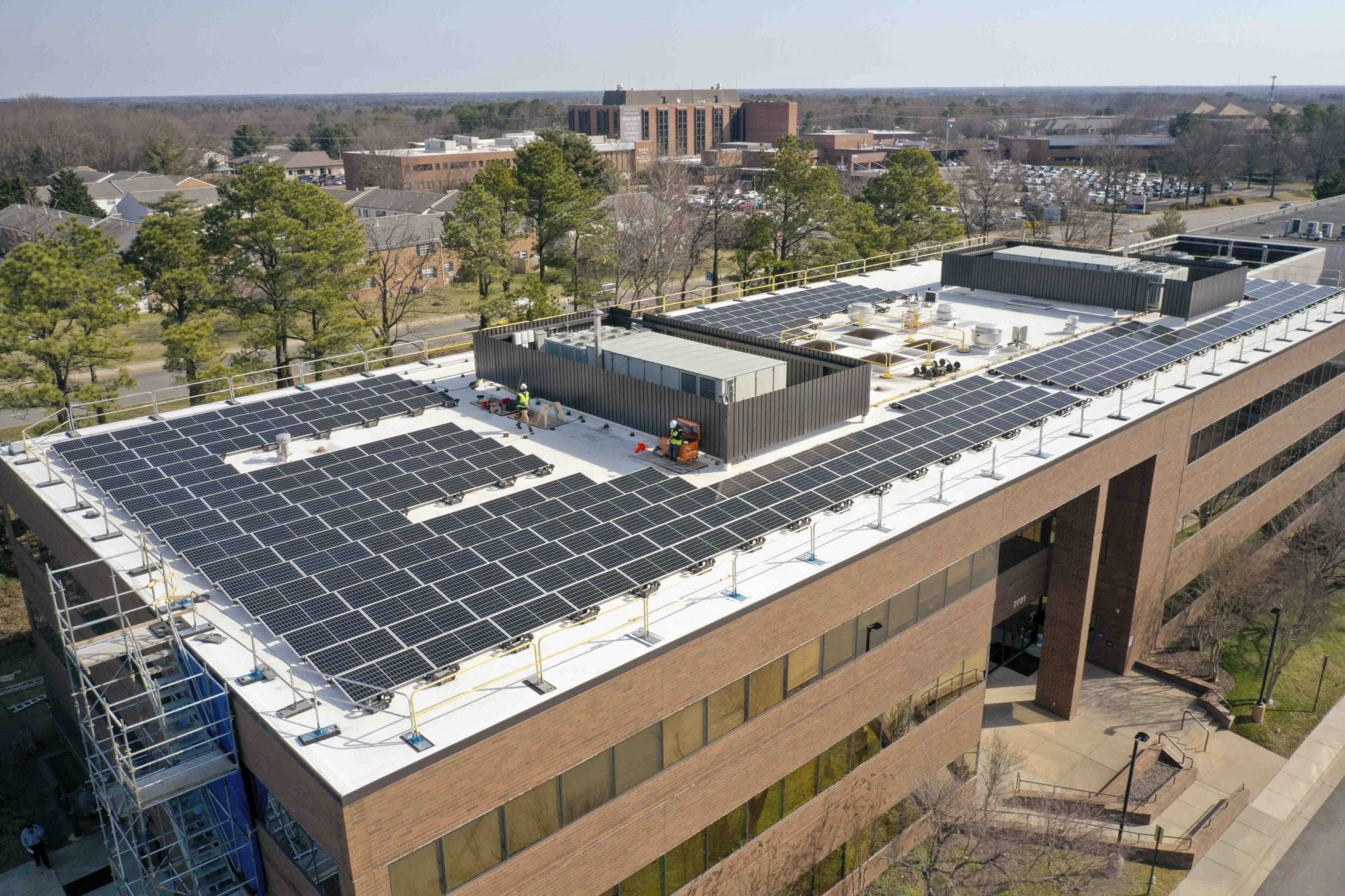 Henrico County Public Safety Building - Solar by Sun Tribe